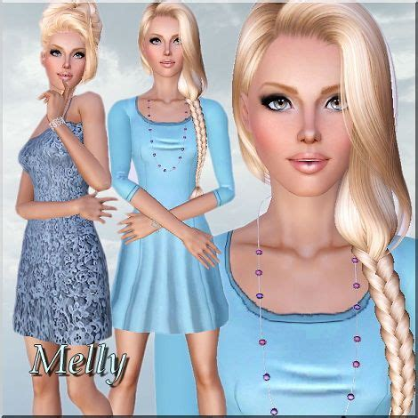 Set Melly Cc 318 Best Sims Images On