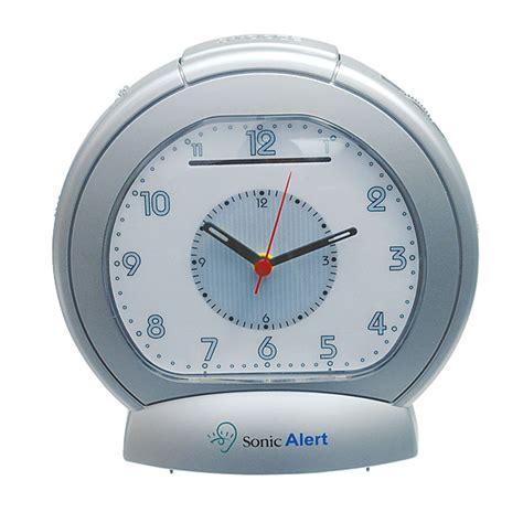 sonic boom analog vibrating alarm clock free shipping
