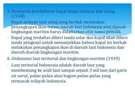 daerah teritorial adalah kebijakan perikanan indonesia