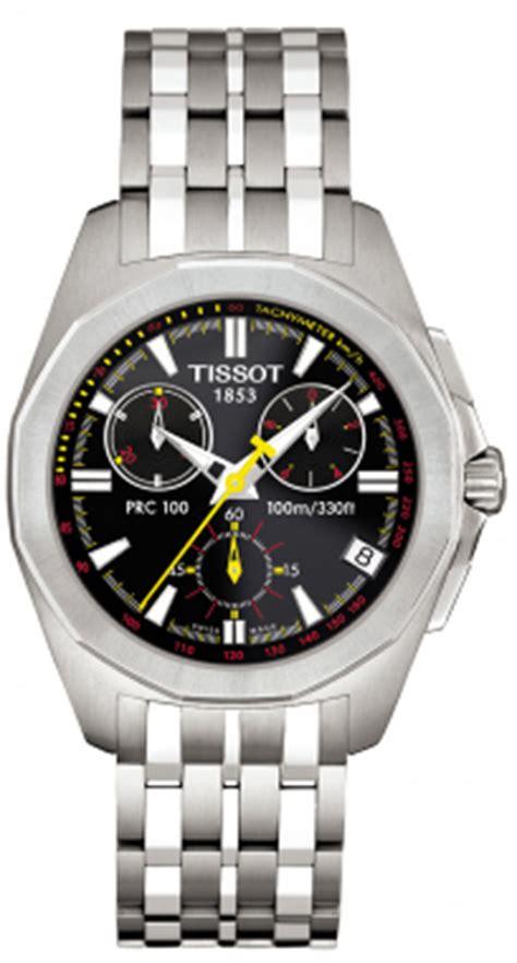 Tissot Prc 27 00 Silver t22168651 tissot prc 100 chronograph quartz black