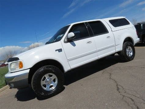 how to sell used cars 2001 ford f series spare parts catalogs sell used 2001 ford f 150 supercrew 4x4 5 4 v8 auto w topper super clean new tires sharp in
