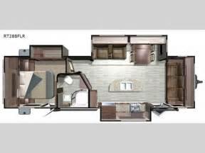 open range travel trailer floor plans hemlock hill rv open range travel trailers model 272rls