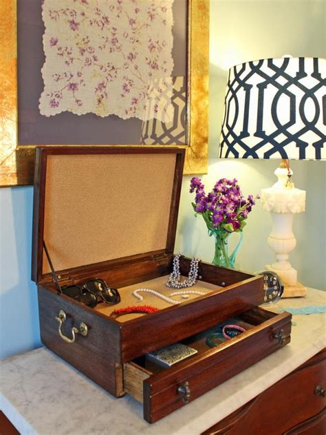 upcycle an cutlery box into a new jewelry box hgtv