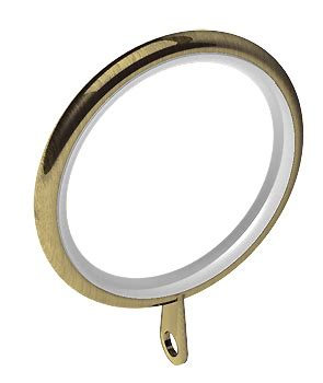 antique brass curtain rings swish elements 28mm curtain pole rings antique brass