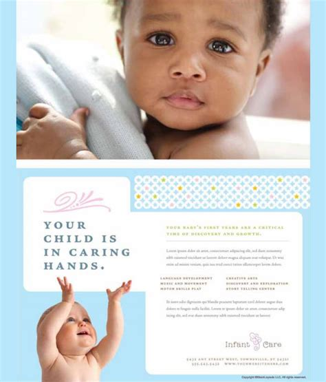 11 Fabulous Psd Baby Sitting Flyer Templates Free Premium Templates Babysitting Brochure Template
