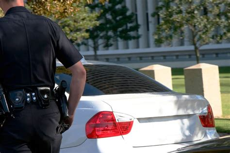 why do cops touch your light this is why cops touch your car s light during