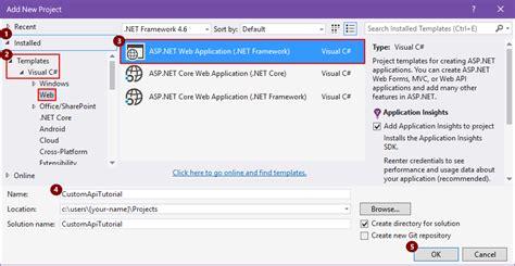 tutorial visual studio web application создание пользовательских соединителей с помощью