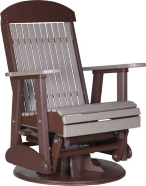 amish outdoor swivel glider chair amish outdoors classic high back outdoor swivel glider