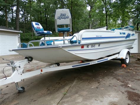 sea nymph deck boat 1994 for sale for 8 500 boats from - Aluminum Deck Boat For Sale