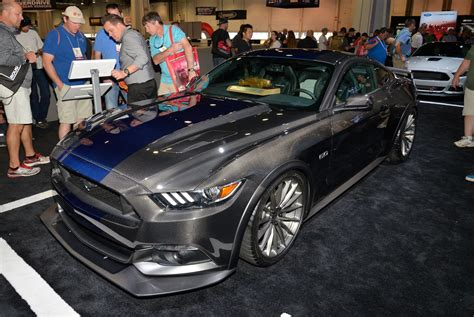 Cobra Auto Las Vegas by Ford Mustang Voted Coupe Of 2016 Sema Show