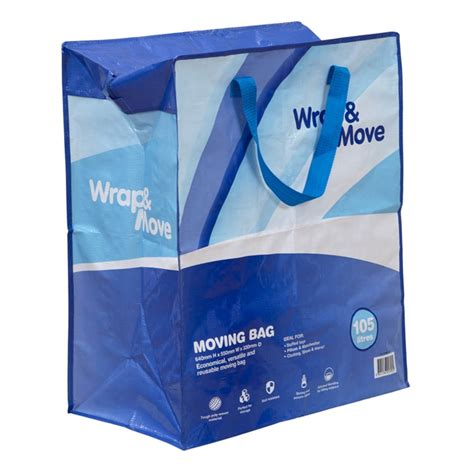 wrap move 105l moving bag bunnings warehouse
