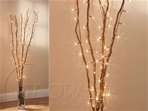 decorative twigs using decorative twigs and twirling fairy lights round