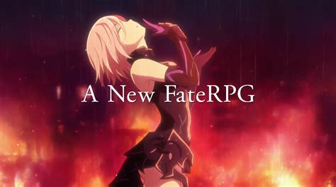fate grand order order fate grand order gets new trailer showing characters and