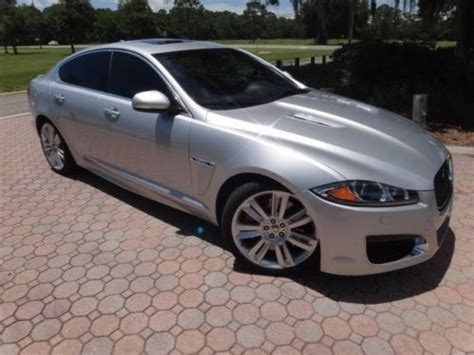 buy used 2013 jaguar xfr 510 horsepower supercharged