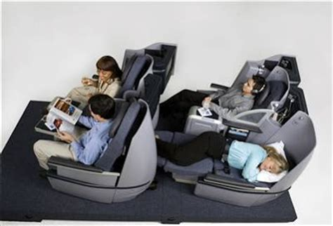 Airlines With Fully Reclining Seats by Continental Unveils New Business Class Seats Luxuo