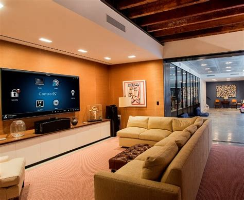 major renovation with home automation system lighting