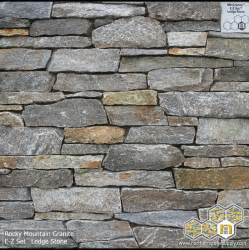 rocky mountain granite ledge stone stacked stone veneer