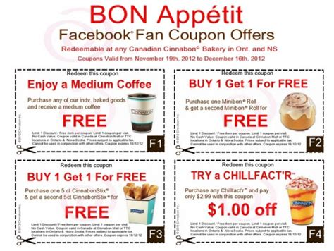 printable grocery coupons in california cinnabon details