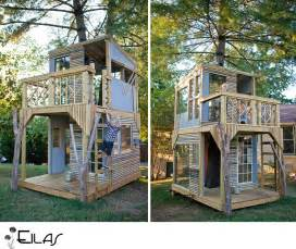 Backyard Playset Plans 25 Diy Forts To Build With Your Kids This Summer Tipsaholic