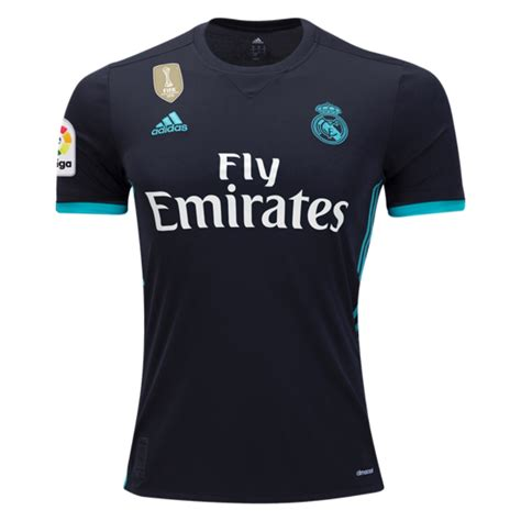 Jersey Real Madrid Away Patch Chion 17 18 Grade Ori Official real madrid 17 18 away jersey tnt soccer shop