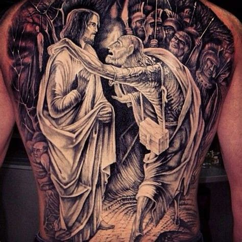 good shoulder tattoos for men vs evil projects to try