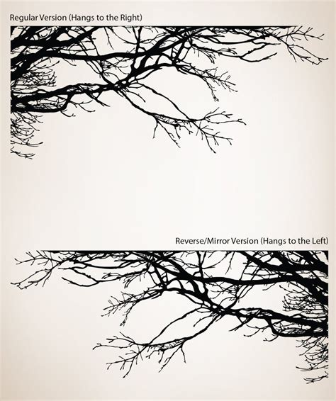 wall stickers tree branches shadowy tree branches wall decal so that s cool