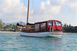 wooden boats for sale indonesia indonesian teak wood sloop for sale sail boats for sale