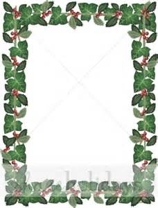 the holly and the ivy frame christmas borders