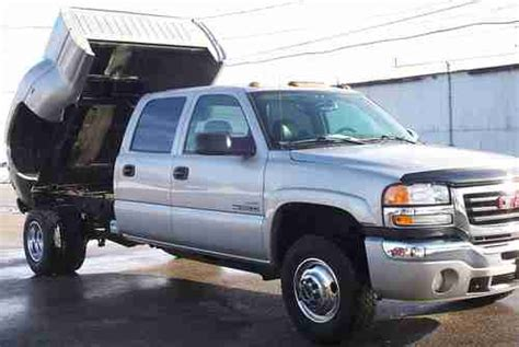 motor repair manual 2005 gmc sierra 3500 transmission control find used 2005 gmc hd 3500 crew cab 4x4 duramax diesel allison automatic trans dump bed in