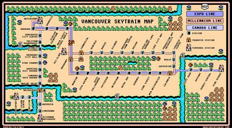 nes maps map dave s geeky ideas page 2
