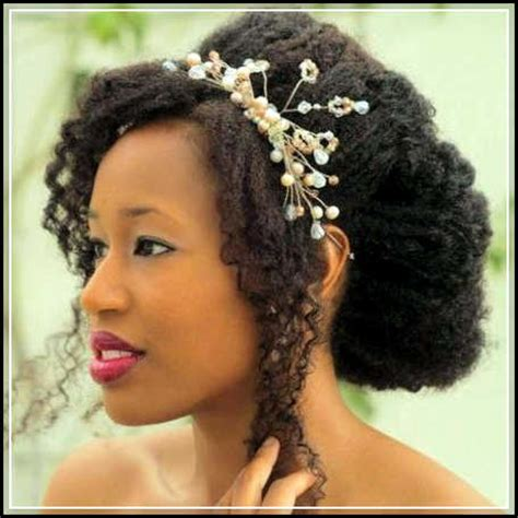 bridal hairstyles natural hair 5 interesting natural wedding hairstyles for black women