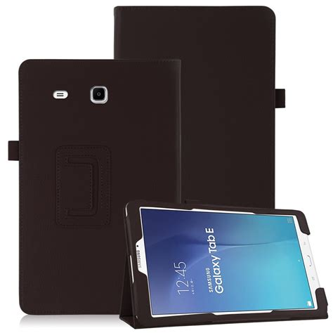 fr samsung galaxy tab e 9 6 quot t560 t561 prortective flip leather cover stand ebay