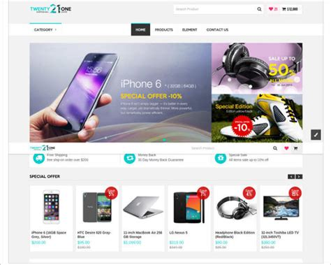 e commerce site templates php ecommerce website templates free premium