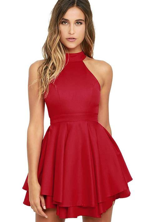 Best 20 Red Skater Dress ideas on Pinterest Vestidos