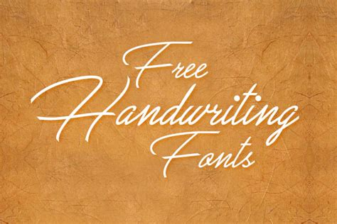 best script 10 best beautiful free handwriting script fonts to