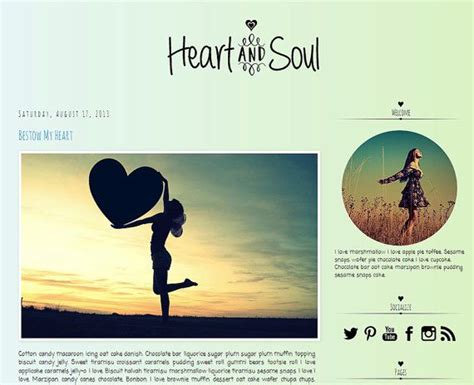17 best images about blog template ideas on pinterest