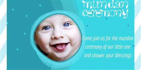 Mundan Sanskar Invitation Card In