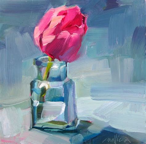 tulip in a bottle patti mollica paint whatever whenever pink tulip in