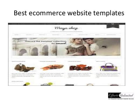 Best Ecommerce Website Templates Best Ecommerce Template