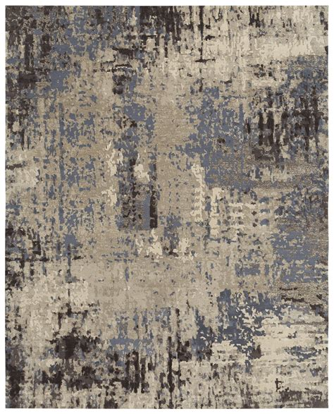 contemporary rug designs this contemporary rug is knotted in nepal from the