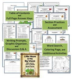 little house in the big woods lesson plans 1000 images about literature little house in the big woods on pinterest little