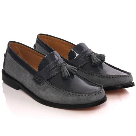 unze mens leather imp m30al slipons formal