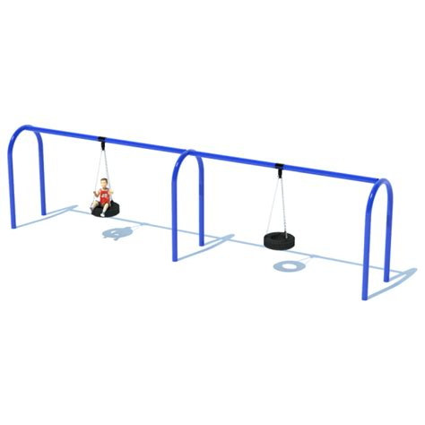 tire swing frame 2 bay 8 arch 5 quot tire swing frame swing sets
