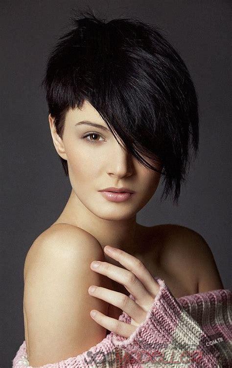 Siyah K?sa Saç Modelleri Seçiminde Trend Öneriler