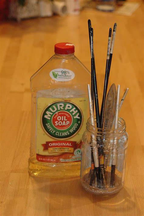 acrylic paint cleaner 17 best ideas about paint brush cleaning on