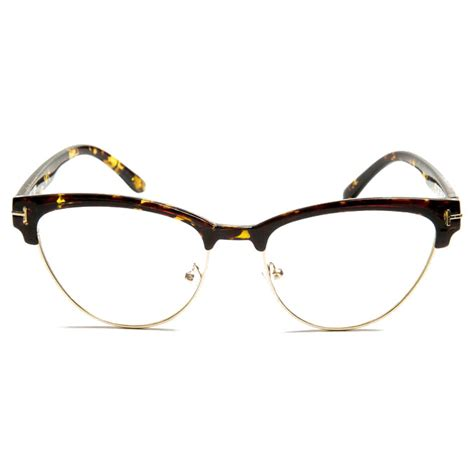 Frame Kacamata Wanita frame kacamata wanita cat eye f15031 brown