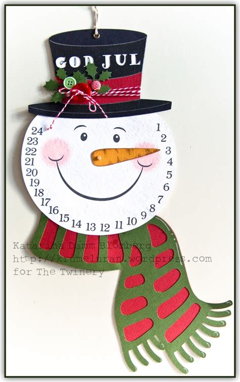 the twinery christmas is coming snowman countdown