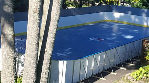 backyard rink boards learn more about hockey rink boards d1 backyard rinks