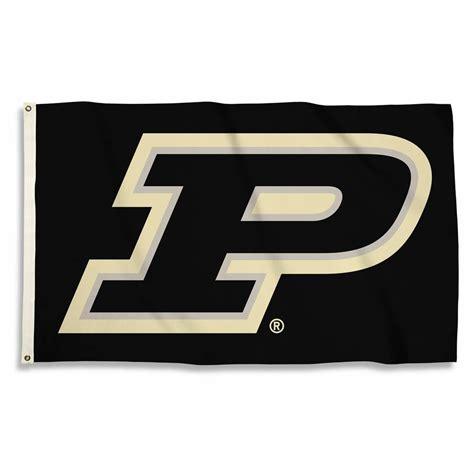 purdue colors purdue boilermakers black 3 x 5 flag