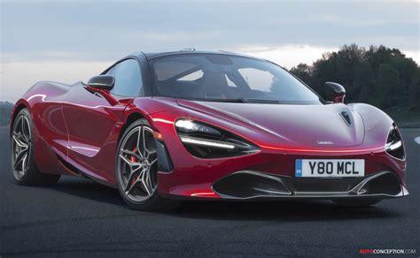 mclaren supercar 2017 mclaren 720s crowned most beautiful supercar of the year